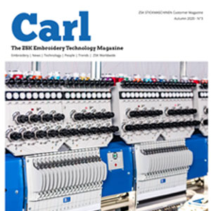 Carl - The ZSK STICKMASCHINEN Customer Magazine - Autumn 2020