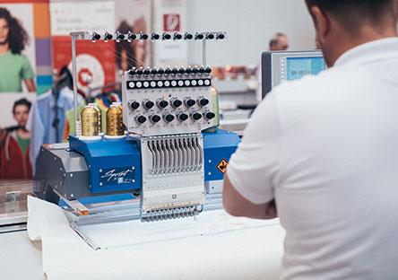 SPRINT – ZSK Stickmaschinen