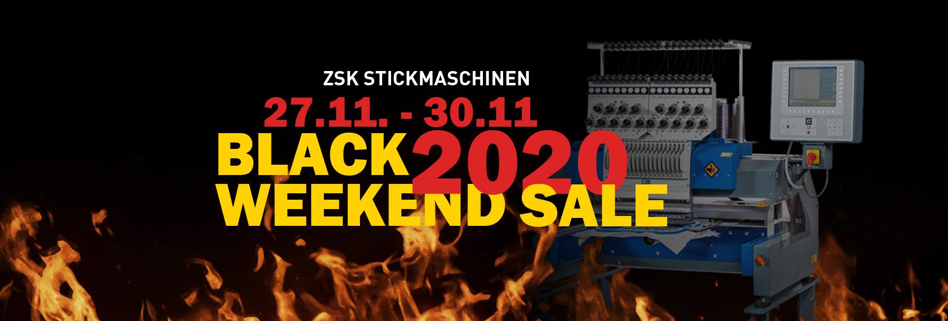 ZSK Black Weekend Sale 2020