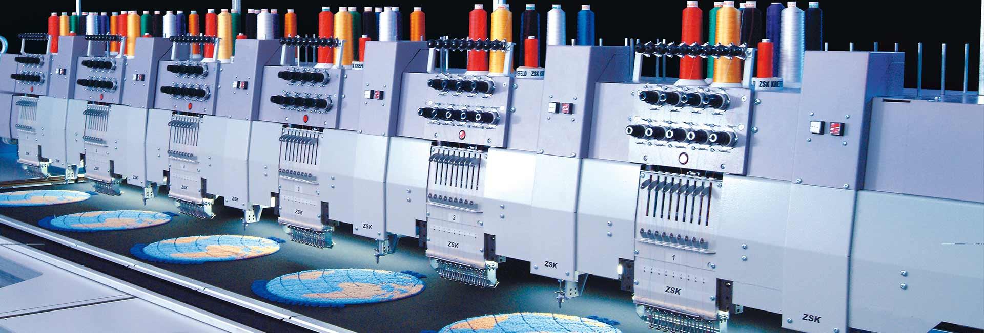 Chenille Maschinen – ZSK Stickmaschinen