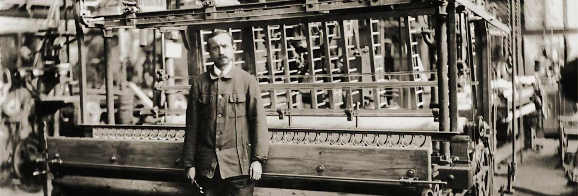 Historie – ZSK Stickmaschinen