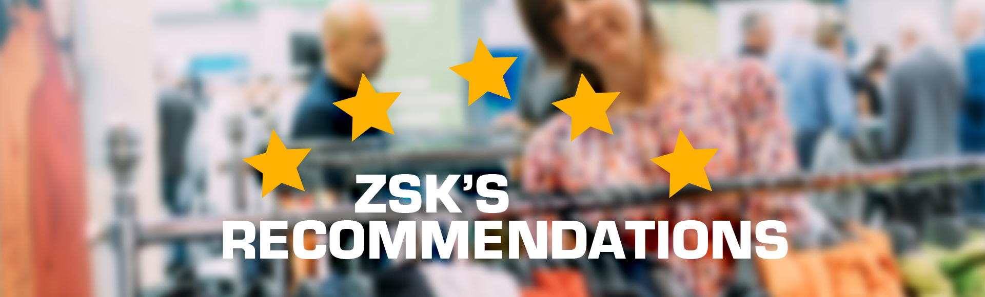 ZSK STICKMASCHINEN - Our recommendations for products and services related to embroidery