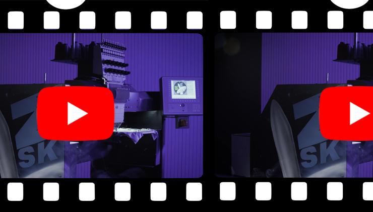 Sehen Sie ein Video zu unserer technischen Revolution 2.020 Stiche pro Minute