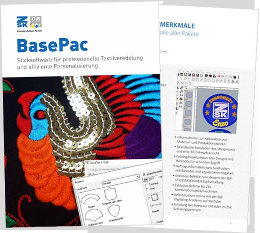 BasePac 10: Sticksoftware für professionelle Textilveredelung und effiziente Personalisierung