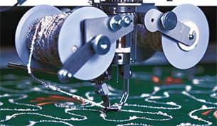 Kordelstickerei – ZSK Stickmaschinen