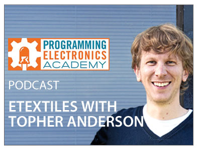 Podacast - E-textiles with Dr. Topher Anderson, ZSK STICKMASCHINEN Manager Technical Embroidery systems