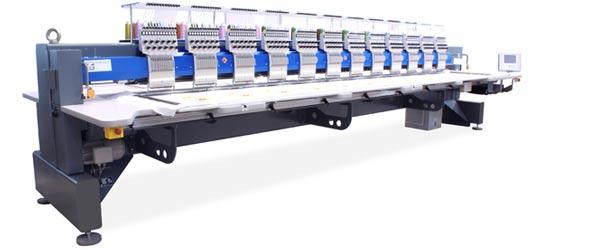 ZSK Stickmaschinen zur Miete - CHALLENGER CXCF 1212