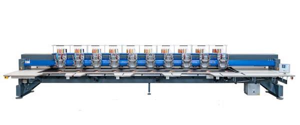 ZSK Stickmaschinen zur Miete - CHALLENGER CYCF 1012
