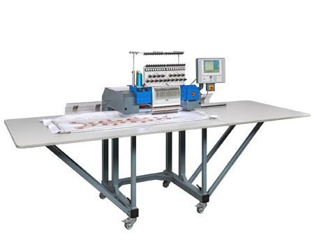 ZSK Embroidery Machines to rent - SPRINT 7XL