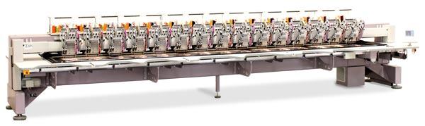 ZSK Stickmaschine zur Miete - XCFB 1509