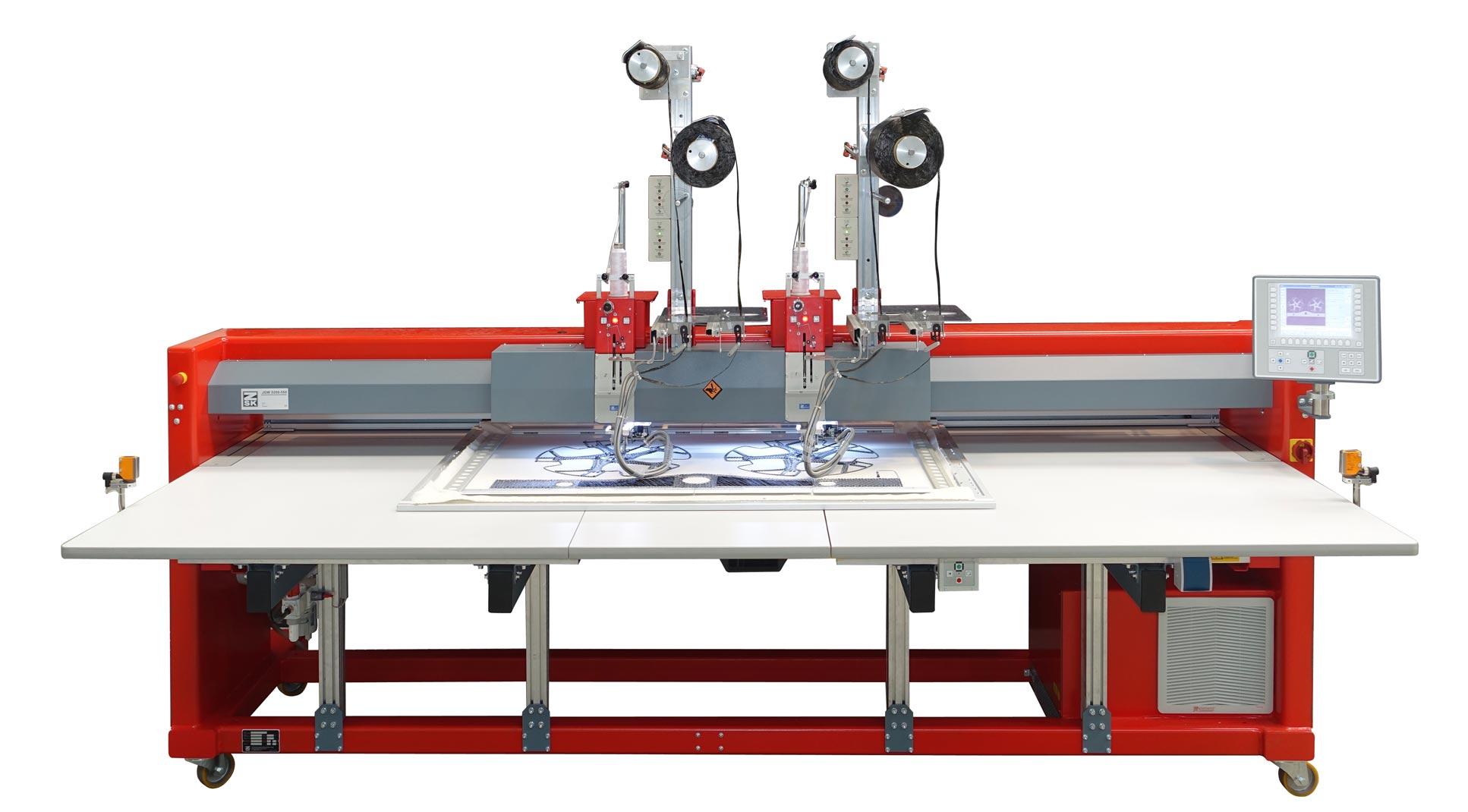 ZSK Technische Sticksystem JGW0200