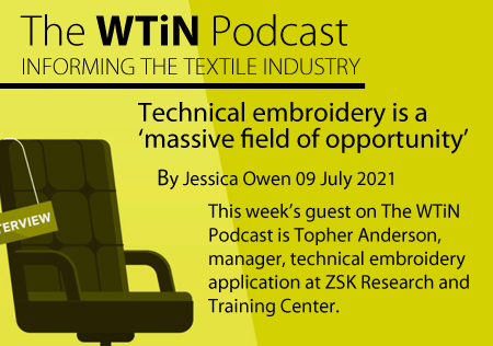 Podcast - Technical Embroidery is a massive field of opportunity
