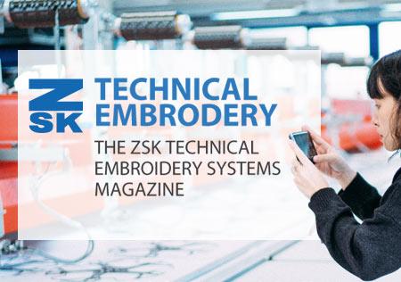 Technical Embroidery Magazin - Artikel zum Thema Technische Stickerei