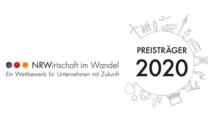 ZSK STICKMASCHINEN - Preisträger NRW im Wandel 2020