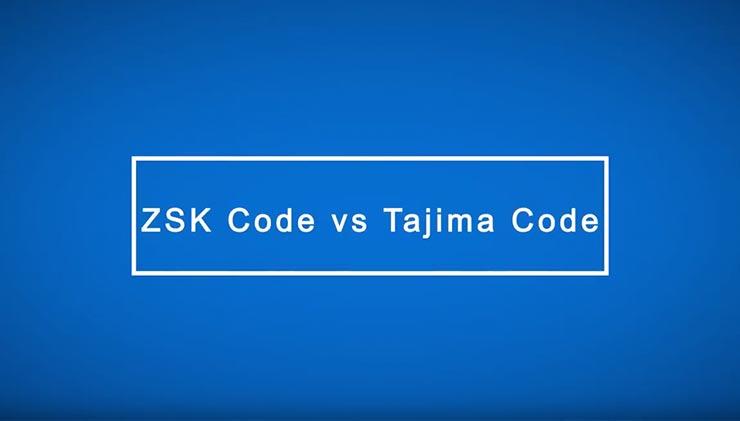 ZSK Code – ZSK Stickmaschinen