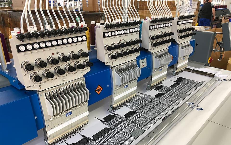 Kopfschaltung– ZSK Stickmaschinen