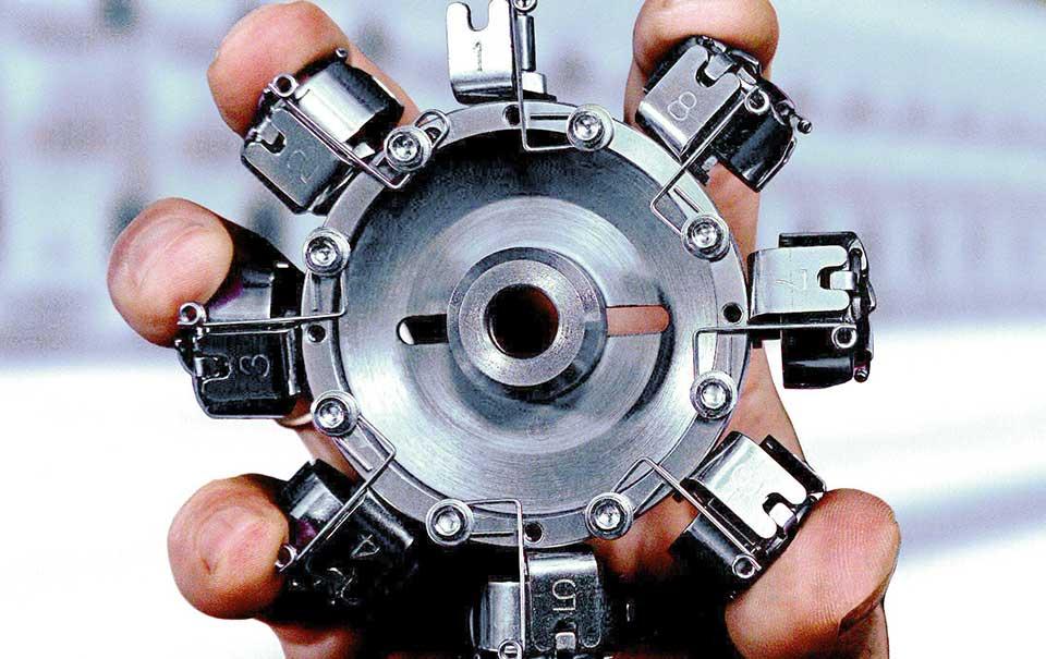 Maschinen Bedieneinheit – ZSK Stickmaschinen