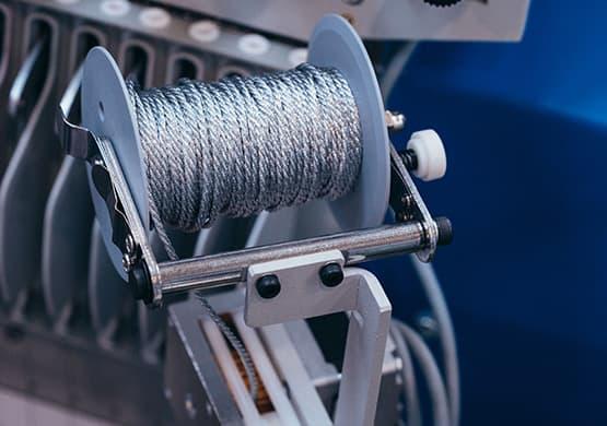 Kordeleinrichtung – ZSK Stickmaschinen