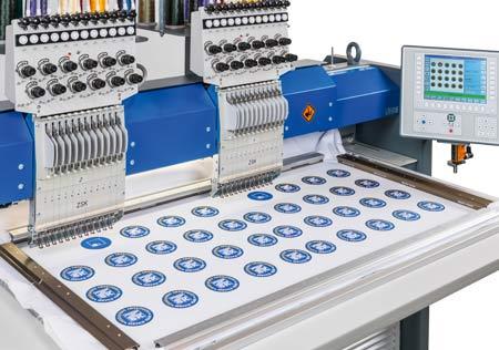 Bordürenrahmen zum Stciken von Aufnähern, Tischdecken und vielen anderen Produkten