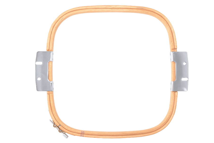 Rectangel wooden frame for ZSK embroidery machines