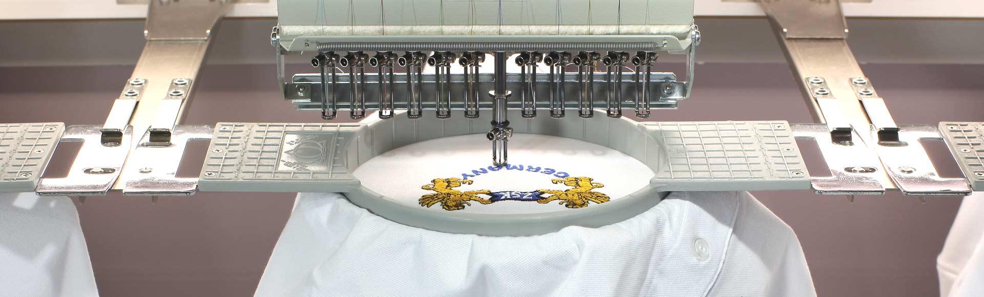 Professionelle Stickrahmen aus Kunststoff für ZSK Stickmaschinen