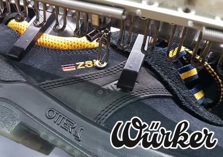 Stickrahmen zum besticken von Schuhen
