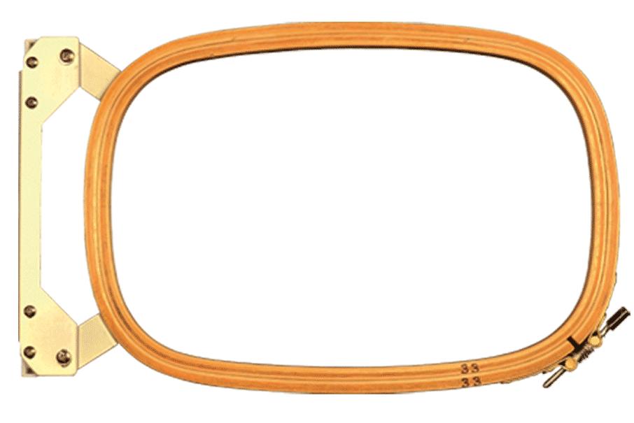 Einzelrahmen für den Flachstick - Oval - Befestigungssystem Z200