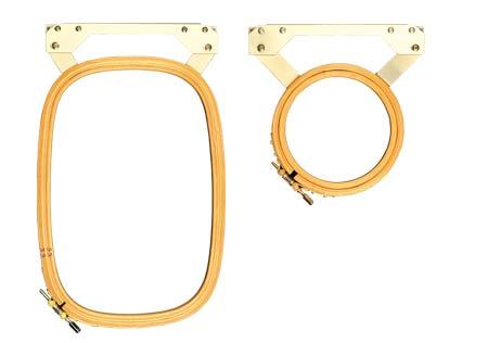 Z 200 und Z360 System-Stickrahmen für den Flachstick